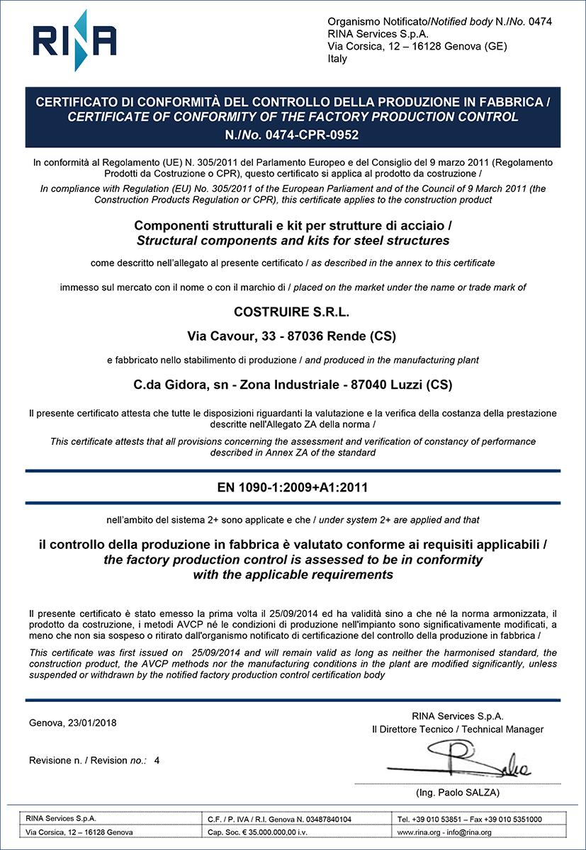 04 Certificato 0474 CPR 0952