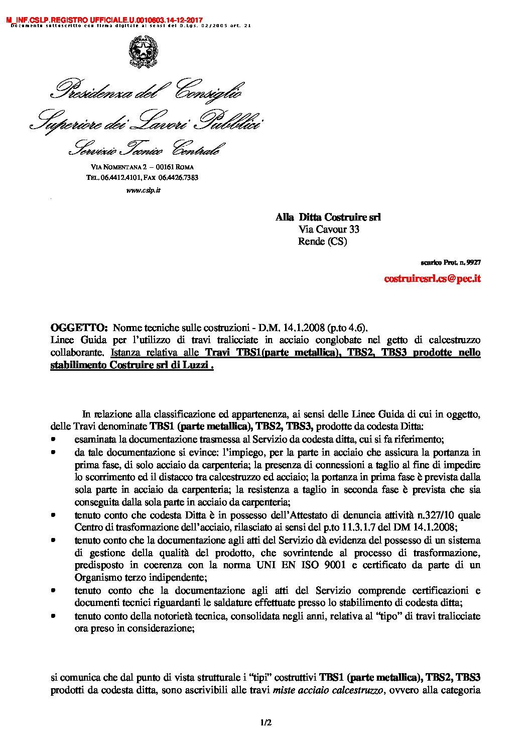 CSLP REGISTRO UFFICIALE 2017 0010603 pdf