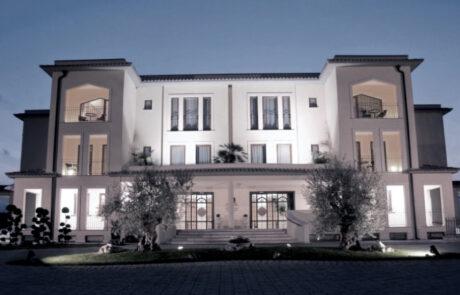 Villa Fabiano Palace Hotel Rende travi tralicciate